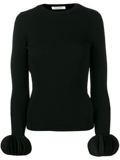 Valentino свитер с объемными манжетами