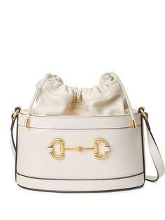 Gucci сумка-ведро с пряжкой Horsebit
