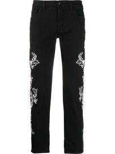 Dolce & Gabbana джинсы скинни с принтом