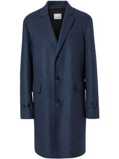 Burberry пальто строгого кроя
