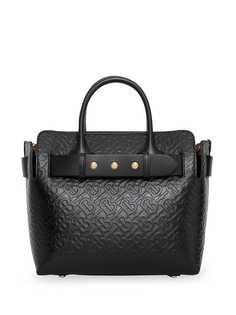 Burberry маленькая сумка Belt с заклепками и монограммой
