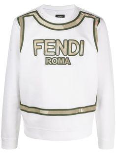 Fendi толстовка с логотипом