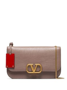 Valentino сумка на плечо среднего размера с логотипом VLogo