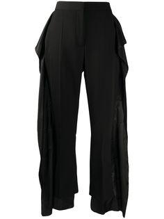 Burberry двухслойные брюки