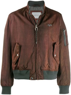 LANVIN куртка-бомбер с узором