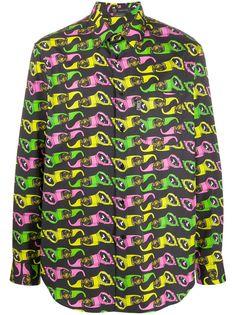 Versace рубашка с принтом Medusa Biggie