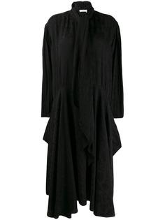 Chloé платье с принтом и бантом