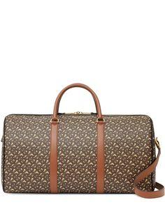 Burberry дорожная сумка с монограммой