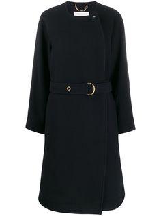 Chloé пальто с поясом