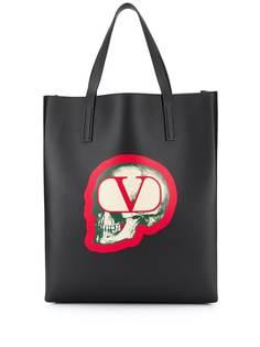 Valentino сумка-тоут Valentino Garavani с логотипом VLogo