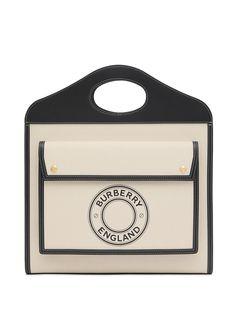 Burberry сумка-тоут Pocket с логотипом