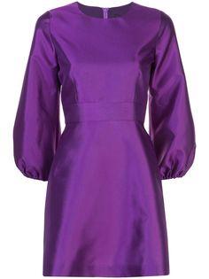 Cynthia Rowley расклешенное коктейльное платье Daphne