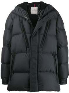 Moncler стеганая куртка оверсайз