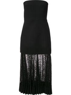 Dion Lee вечернее платье без бретелей