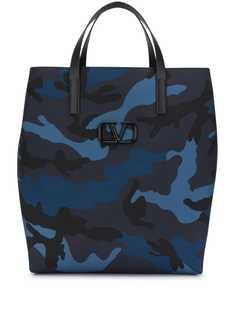 Valentino сумка-тоут с камуфляжным принтом