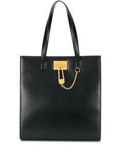 Versace сумка-тоут с декором Medusa