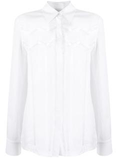 Gabriela Hearst рубашка с вырезами