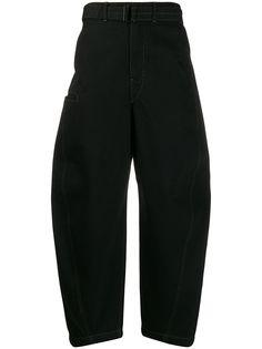 Lemaire широкие джинсы с низким шаговым швом