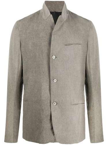 Masnada пиджак с воротником-стойкой
