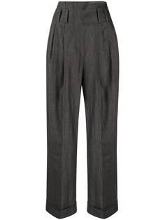 Brunello Cucinelli широкие брюки с завышенной талией