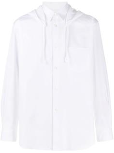 Comme Des Garçons Shirt рубашка с капюшоном