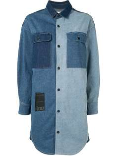 izzue джинсовое платье миди