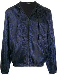 Versace куртка-бомбер с принтом Baroque