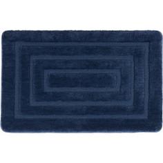 Коврик для ванной IDDIS Basic 80x50, темно-синий (B09M580i12)