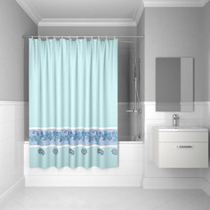 Штора для ванной IDDIS Basic 180x200, голубая (B49P218i11)