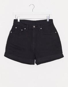 Черные шорты А-силуэта в винтажном стиле Levis-Черный Levis®