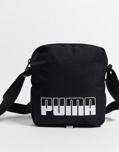 Черная сумка для авиапутешествий Puma Portable II-Черный