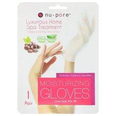 Увлажняющие перчатки для рук Nu Pore
