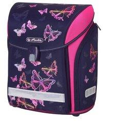 Herlitz Ранец New Midi Rainbow Butterfly, фиолетовый