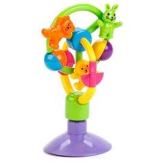 Погремушка Умка Веселые зверята TY9027-R разноцветный