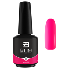 Гель-лак BHM Professional Gel Polish, 7 мл, оттенок №080 Raspberry jam