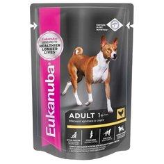 Влажный корм для собак Eukanuba для здоровья кожи и шерсти, курица 100г