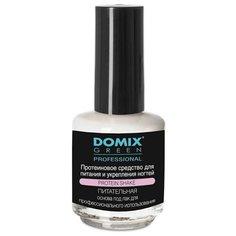 Протеиновое средство для питания и укрепления ногтей Protein Shake, 17 мл Domix Green Professional