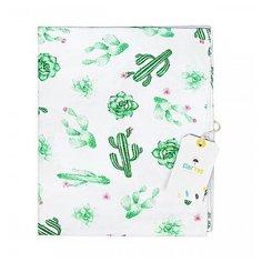 Многоразовые пеленки GlorYes! трикотажная 100х95 кактусы