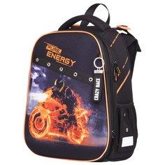 Berlingo ранец Expert Energy, черный/оранжевый