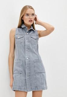 Платье джинсовое Helmut Lang