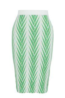Облегающая трикотажная юбка на резинке Shade