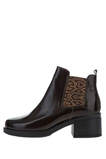 Кожаные ботинки челси на устойчивом каблуке Ronnon