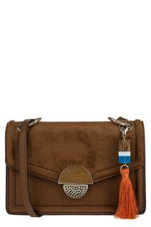 Маленькая коричневая сумка через плечо Aldo