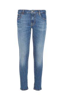 Синие джинсы скинни Miami Guess