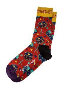 Разноцветные хлопковые носки Queen х Happy Socks