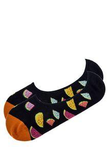 Хлопковые носки-следики Happy Socks
