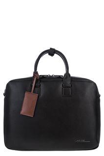 Сумка черного цвета с отделением для ноутбука Calvin Klein Jeans