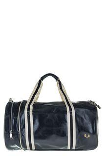 Синяя спортивная сумка с плечевым ремнем Fred Perry