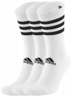 Носки мужские Adidas 3-stripes, 3 пары, размер 50-52