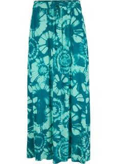 Трикотажная юбка с принтом Bonprix